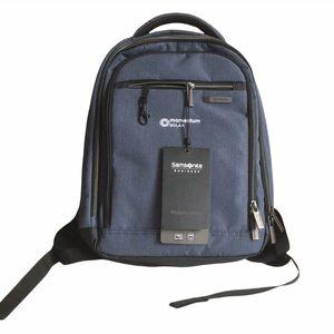 NWT Samsonite Business Blue Mini Laptop Backpack Modern Utility